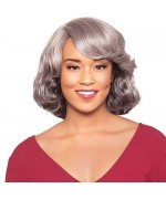 Foxy Silver Human Hair Wig - H/H Sterling