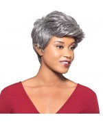 Foxy Silver Human Hair Wig - H/H Milly