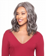 Foxy Silver Lace Front Wig - ABREE