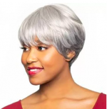 Foxy Silver Lace Front Wig - ROBIN