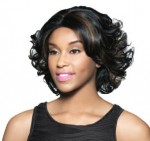 Foxy Lady Synthetic J Part Wig - PEARL