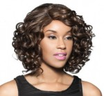 Foxy Lady Human Blend Lace Front Wig - H/B Welsh