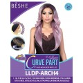 "Beshe Lady Lace 6"" Half-Moon Deep Part Lace Front Wig - LLDP-ARCH4"