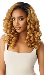Outre Synthetic Half Wig Quick Weave JEANETTE