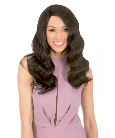 New Born Free  HUMAN HAIR BLEND Lace Front Wig - MLUH102 MAGIC LACE U-SHAPE HUMAN HAIR WIG 102