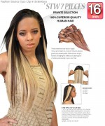 Fashion Source - STW16 Human Hair Clip-In hair Extension