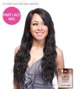 It's a wig Remi Human Part Lace Front Wig - HH PART LACE NATURAL WAVE24