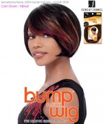 Sensationnel Bump Wig VOGUE CROP - Human Hair Full Wig