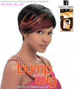 Sensationnel Bump Wig FAB FRINGE - Human Hair Full Wig