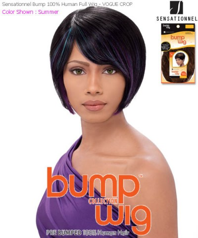 Sensationnel Bump 100% Human Full Wig - VOGUE CROP