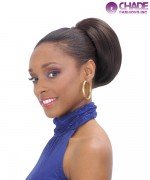 New Born Free Draw String Synthetic Ponytail - 280 EBONY