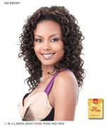 It's a wig Synthetic Half Wig - EBONY