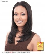 It's a wig Synthetic Half Wig - SHERI