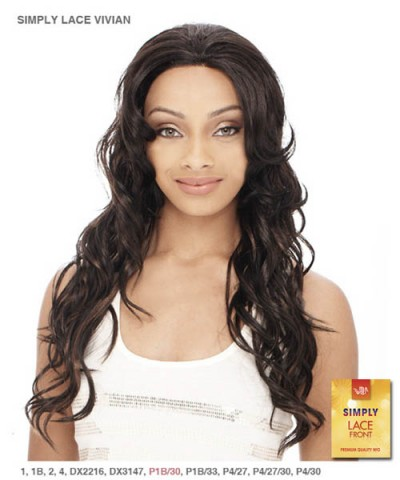 It's a wig Synthetic Simply Lace Front Wig - SIMPLY LACE VIVIAN