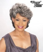 Foxy Silver Synthetic Full Wig - EMILY