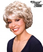 Foxy Silver Synthetic Full Wig - LOIS