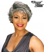 Foxy Silver Synthetic Full Wig - TERI