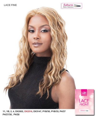 It's a wig LACE FINE - It's a Lace Front Wig Futura Synthetic Lace Front Wig