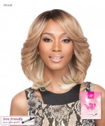 It's a wig Synthetic  Full Wig - ROUX