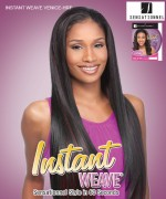 Sensationnel High Quality Synthetic Hair Instant Weave Synthetic Half Wig - INSTANT WEAVE VENICE-HRF