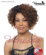Vanessa Lace Front Wig DALIS - Synthetic SUPER C-SIDE LACE PART Lace Front Wig