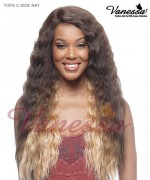 Vanessa Lace Front Wig TOPS C-SIDE  NAT - Synthetic TOP SUPER C-SIDE LACE PART Lace Front Wig