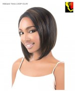 Motown Tress Lace Front Wig LSDP OLAY - Synthetic Swiss Deep Part Lace Front Wig