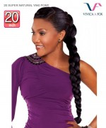 Vivica Fox Braid Hair 20 SUPER NATURAL YAKI PONY