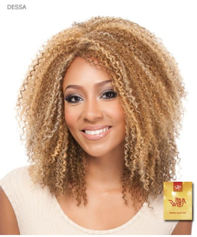 It's a wig Synthetic Premium Quality Wig - DESSA