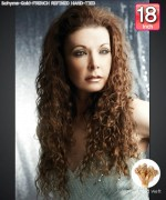 Bohyme Gold  FRENCH REFINED HAND-TIED 18 - Hand-Tied Weft Remi Human Hair Weave