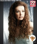 Bohyme Gold  FRENCH REFINED HAND-TIED 22 - Hand-Tied Weft Remi Human Hair Weave