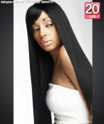 Bohyme Platinum  TEXTURED SMOOTH 20 - Remi Human Hair Weave