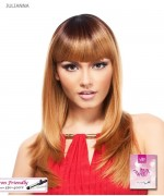 It's a wig Synthetic  Full Wig - JULIANNA