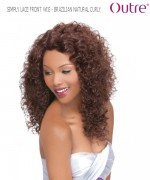 Outre Lace Front Wig - BRAZILIAN NATURAL CURLY  Non-Prosessed SIMPLY Lace Front Wig Remi Human Lace Front Wig