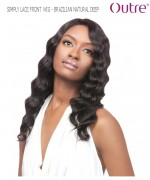 Outre Lace Front Wig - BRAZILIAN NATURAL DEEP   Non-Prosessed SIMPLY Lace Front Wig Remi Human Lace Front Wig