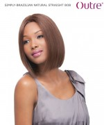 Outre Lace Front Wig - BRAZILIAN NATURAL STRAIGHT BOB   Non-Prosessed SIMPLY Lace Front Wig Remi Human Lace Front Wig