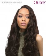 Outre Weave Extension  - BODY WAVE 14 VELVET BRAZILIAN Remi Human Weave