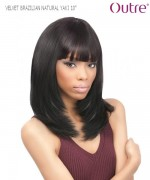 Outre Weave Extension  - NATURAL YAKI 10 VELVET BRAZILIAN Remi Human Weave