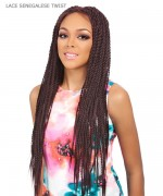 It's a wig Synthetic Futura Lace Front - LACE SENEGALESE TWIST