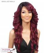 It's a wig Synthetic Futura Lace Front - SWISS LACE NOELLE