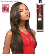 Sensationnel GODDESS Remi Human Hair Weave Extention - SELECT REMI NEW YAKI 12