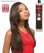 Sensationnel GODDESS Remi Human Hair Weave Extention - SELECT REMI NEW YAKI 18