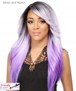 It's a wig Synthetic Futura Lace Front - SWISS LACE MUJICA