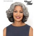 Foxy Silver Lace Front Wig - ESTHER  Synthetic Lace Front Wig