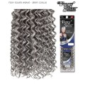 Foxy Silver Weave Extentions - JERRY CURL 10  Human Hair Weave Extentions