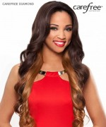 Care Free Lace Front Wig - DIAMOND  Synthetic Lace Front Wig