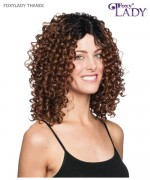 Foxy Lady Lace Front Wig - THANDI J LACE Synthetic Lace Front Wig