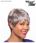 Foxy Silver Full Wig - AUDRA  Synthetic Full Wig
