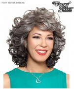 Foxy Silver Full Wig - HELENA  Synthetic Full Wig