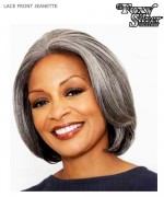 Foxy Silver Lace Front Wig - JEANETTE  Synthetic Lace Front Wig